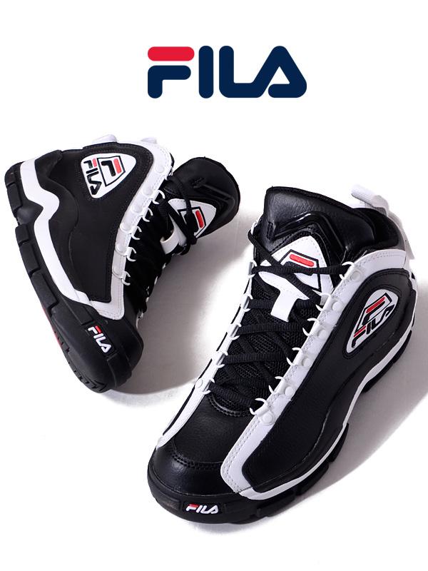 c0ef4bfa7e8 FILA Fila sneakers Lady's men unisex black black fashion higher frequency  elimination 96 GL Grant Hill ...