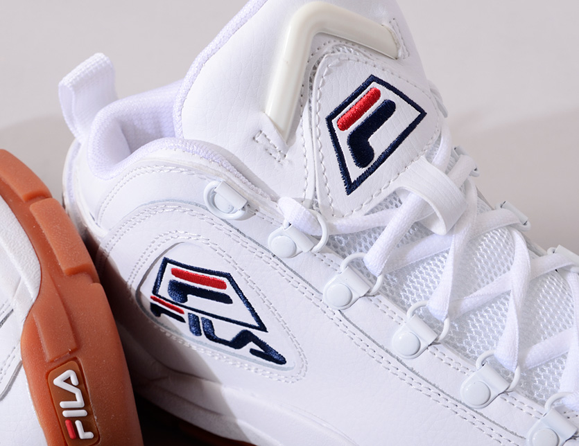 3d8b5ee7378f RODEO BROS  FILA Fila sneakers Lady s men unisex white white fashion ...