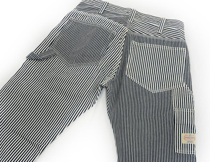 儿岛牛仔裤KOJIMA牛仔裤粗斜纹布多山核桃条纹画家裤子工作RNB-1084H