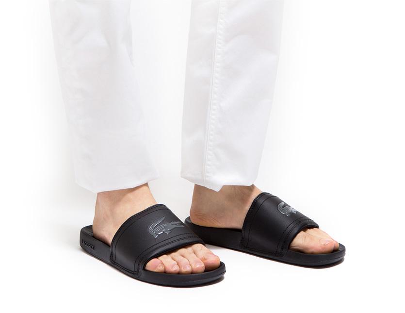 db7c68091aae RODEO BROS  LACOSTE Lacoste men sandals FRAISIER BRD1 shower sandal ...