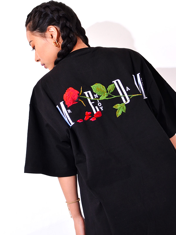 国内発送 M.E.D.M Big M Fire ロゴ Tシャツ 半袖 関税送料込