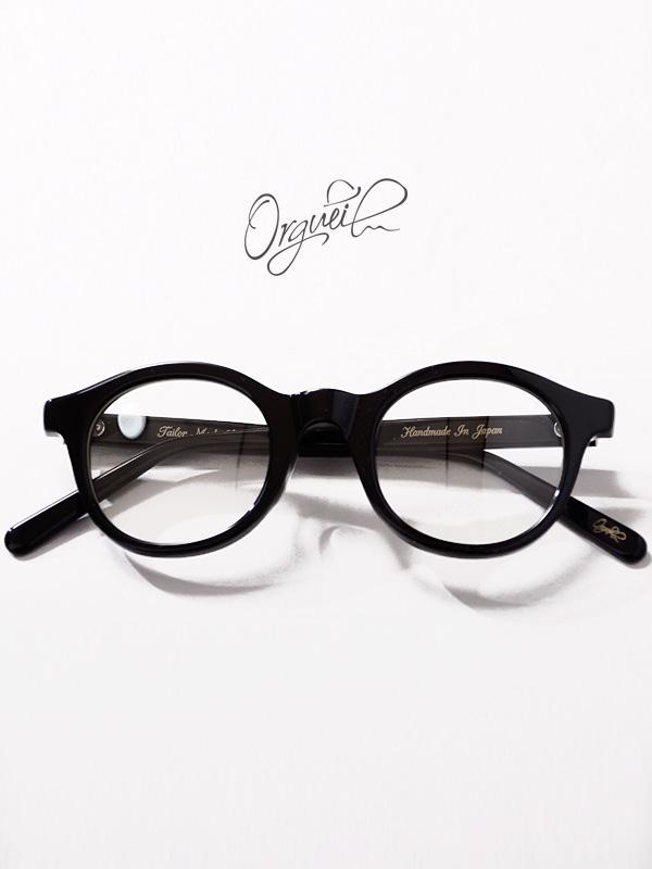 ORGUEIL オルゲイユ サングラス メンズ レディース ユニセックス ブランド おしゃれ 日本製 メガネ 眼鏡 伊達メガネ ボストン 黒ぶち セルロイド クリアレンズ ドライブ フェス 海 川 レジャー OR-7090-B 母の日 ギフト プレゼント ラッピング
