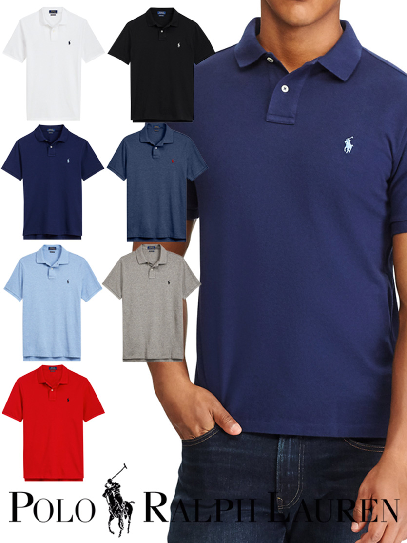 75ed2ff23ce5b Polo Ralph Lauren polo shirt POLO RALPH LAUREN short sleeves fawn logo  embroidery men 710666998