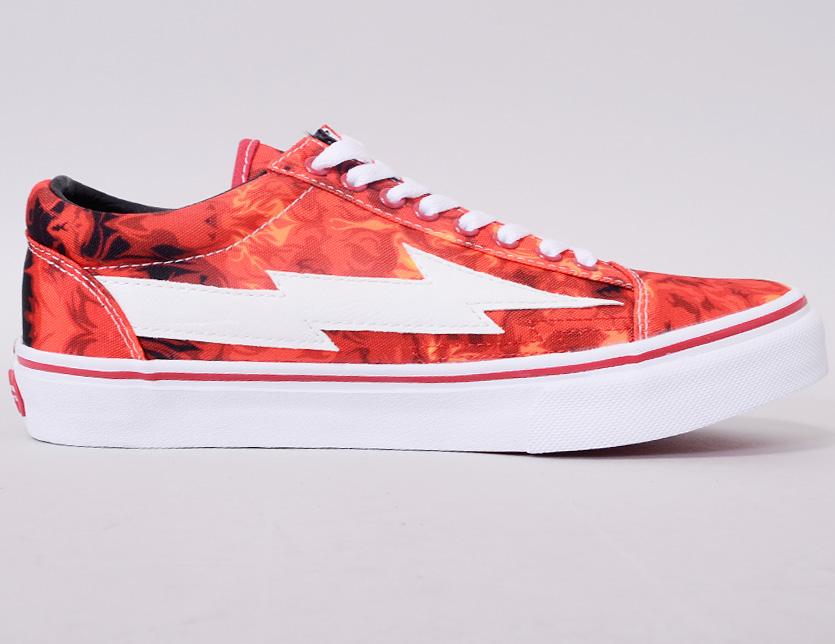 7cb03448cbfe REVENGE X STORM revenge X storm sneakers men gap Dis unisex-limited model REVENGESTORM  revenge storm ALL RED FLAME low-frequency cut canvas shoes shoes Ian ...
