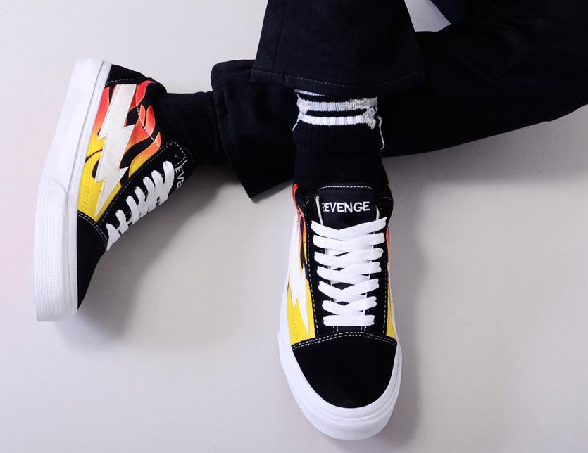 a0e410a3 ... Vans system street skater REVENGE-FCS of REVENGE X STORM revenge X storm  sneakers men ...