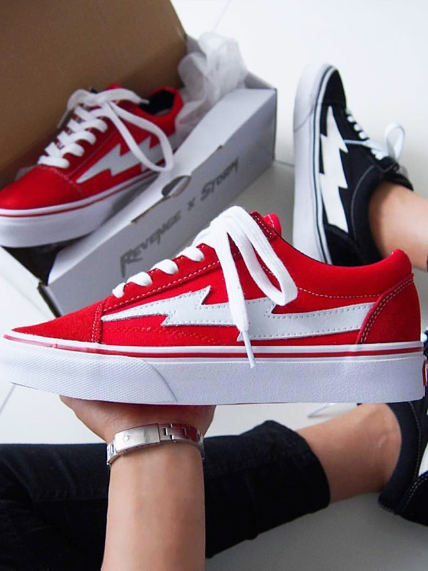 4fe60ceb3bcb2d Vans system street skater REVENGE-RCS of REVENGE X STORM revenge X storm  sneakers men gap Dis unisex REVENGESTORM revenge storm RED low-frequency  cut shoes ...
