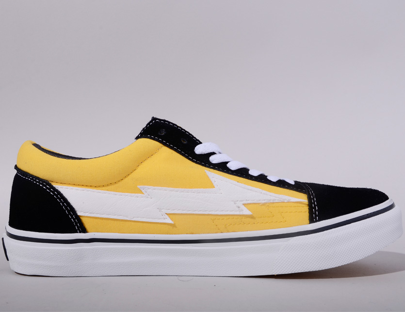 afc28abd57389e Vans system REVENGE-YB-VOL3 of REVENGE X STORM revenge X storm sneakers men  gap Dis unisex REVENGESTORM revenge storm VOL 3 YELLOW BLACK low-frequency  cut ...