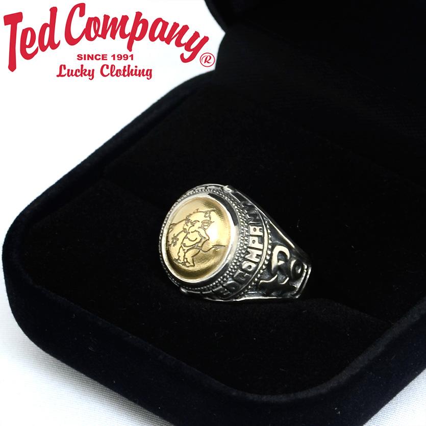 【数量限定】 テッドマン TEDMAN 指輪 ゴールド リング クリスマス シルバー ゴールド TCR-02 指輪 クリスマス ギフト プレゼント ラッピング, パソコンショップドーム:25e3d5f2 --- cpps.dyndns.info