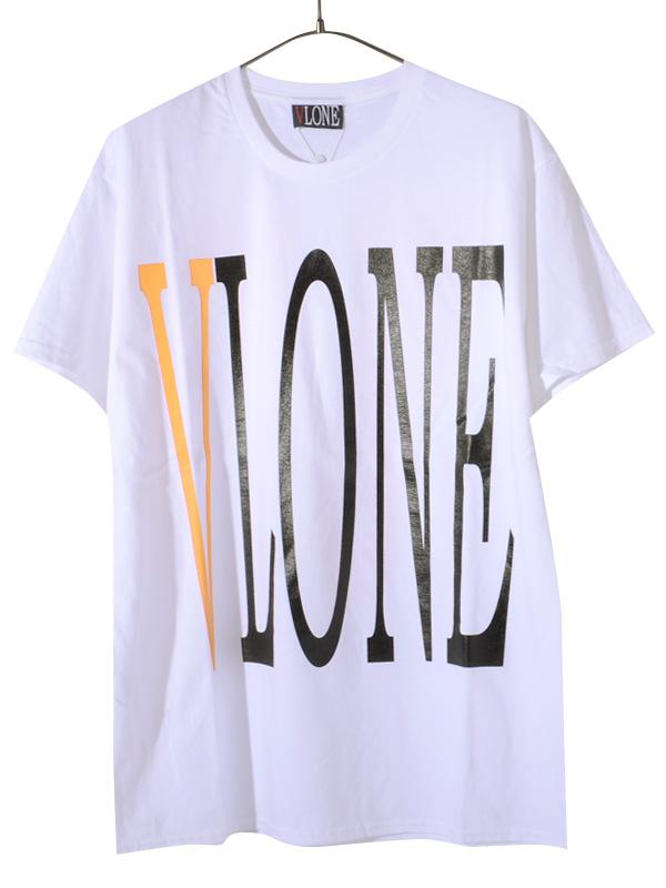 VLONE ヴィーロン ヴィーローン Tシャツ メンズ レディース ユニセックス 半袖 STAPLE T-SHIRT S/S TEE WHITE/YELLOW A$AP Mob エイサップモブ ASAP BARI エイサップ バリ Ian Connor イアン・コナー Kanye West カニエ・ウエスト 愛用ブランド STAPLE-SST-WY