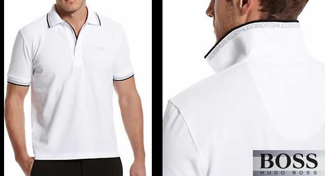 【春夏】ヒューゴボス半袖ポロシャツ50198254ホワイト【HUGO BOSS】【あす楽】