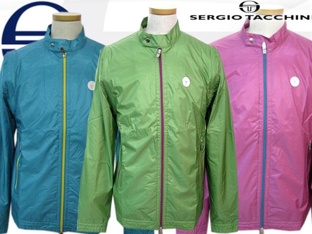 【SERGIO TACCHINI】セルジオ・タッキーニツーウェイブルゾン メンズ(SMW003)3カラー【撥水】【ベスト】