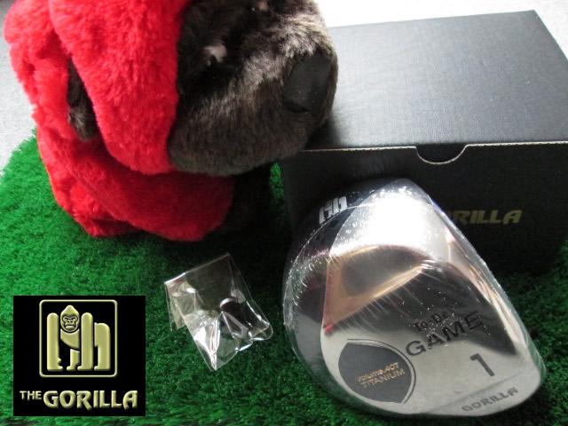 【新作】THE GORILLA (ゴリラ) TO-BE GAME ドライバー ヘッドのみ