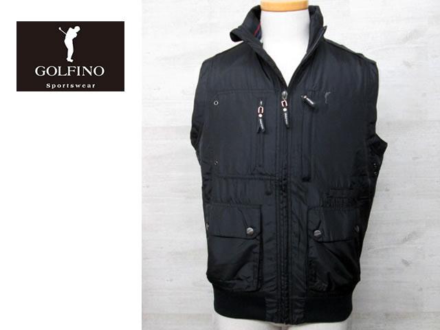 【送料無料】ゴルフィーノ メンズ中綿ベスト 1750314【GOLFINO/海外一流メーカー/中綿ベスト】