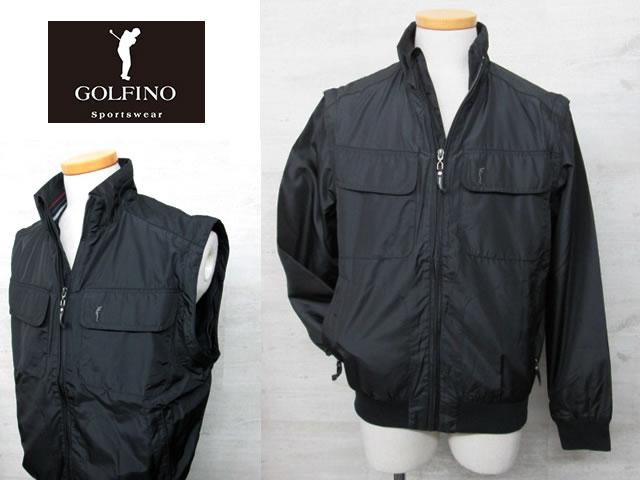 【送料無料】ゴルフィーノ メンズ 2WAYジャケット1750214【GOLFINO/海外一流メーカー/ベスト】