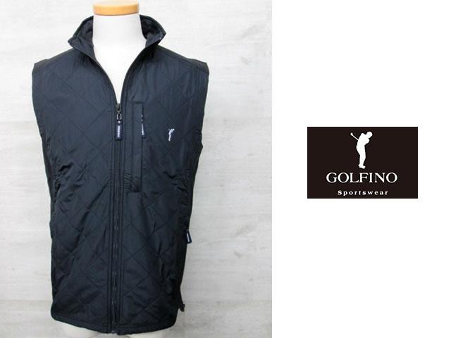 【送料無料】ゴルフィーノ キルティングフリースベスト1820111【GOLFINO/海外一流メーカー/保温】
