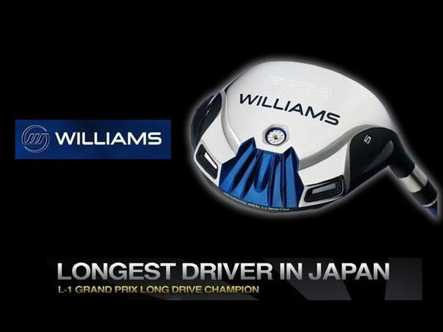 【送料無料】ウィリアムズ FW32 フェアウェイウッド【Williams/ヘッドカバー付】