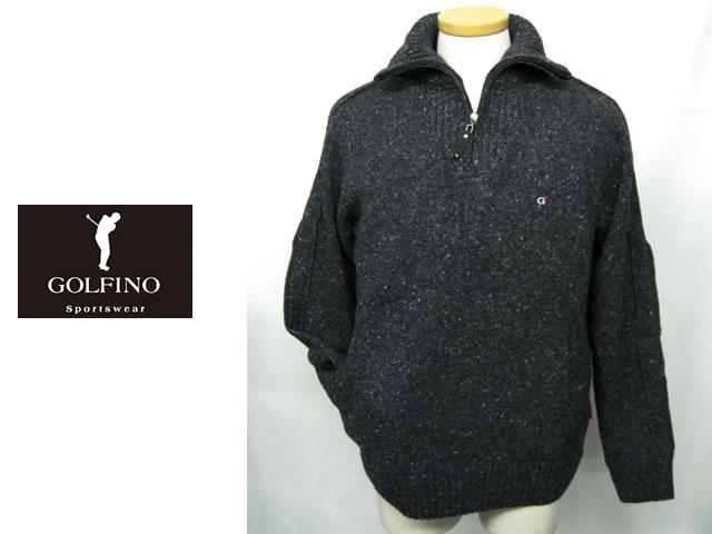 【送料無料】ゴルフィーノ メンズジップアップセーター 1710244【GOLFINO/海外一流メーカー】