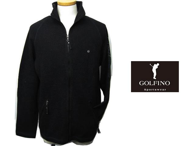 【送料無料】ゴルフィーノ メンズジップアップセーター 1720444【GOLFINO/海外一流メーカー】