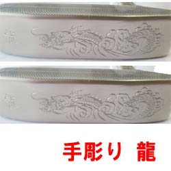 【NAMATETSU Forged Hand Carved Dragon Putter5】 軟鉄削りだし 完全手彫り 龍 生鉄 フォージド パター【ピンタイプ】【送料無料】【smtb-k】【kb】 02P05Nov16