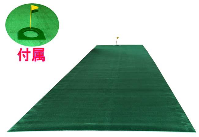 【長さ6m*幅1m】 ツアープロ大絶賛 国内最長メガ 6メートル パターマットで真の転がりを見極めろ!【送料無料】【広田ゴルフ】【smtb-k】【kb】