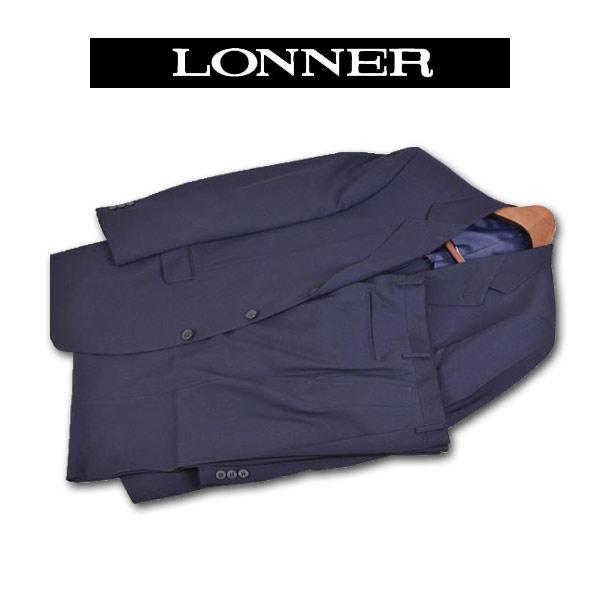 【あす楽】【送料無料】ロンナー 春夏スーツ シングル3釦 XL 日本製 3061-11