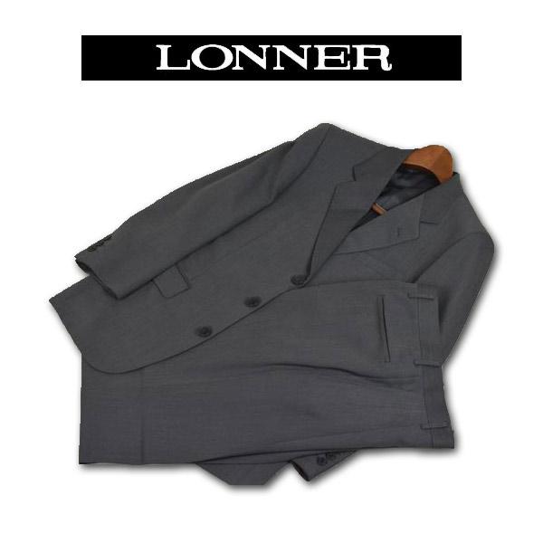 【あす楽】【送料無料】ロンナー 秋冬スーツ シングル3釦 S 日本製 3042-61