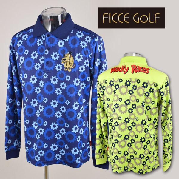 【あす楽 送料無料 】フィッチェゴルフ メンズ 長袖ポロシャツM L LL ゴルフウェア FICCE GOLF 251609