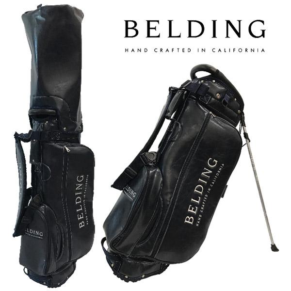 BELDING キャディバッグ メンズ 紺 スタンド式 hbcb850114【 送料無料 】[ ベルディング ゴルフ スタンド 8.5インチ 5分割 マリーン・グレーズ MARINE GLAZE ゴルフバッグ キャディバック かっこいい おしゃれ golf ネイビー 高級 レア 即納 父の日 ]