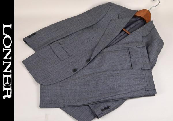 【あす楽】【送料無料】ロンナー/秋冬スーツ シングル2釦 A3 日本製 2331-63