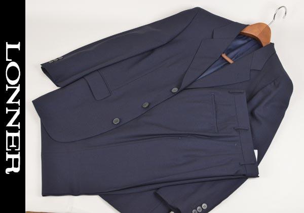 【あす楽】【送料無料】ロンナー/秋冬スーツ シングル3釦 S 日本製 3031-11