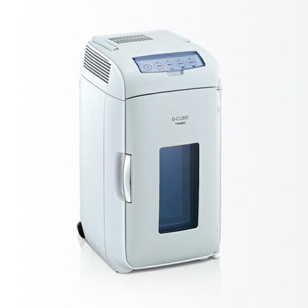 HR-DB07GY ツインバード2電源式コンパクト電子保冷保温ボックス D-CUBE L