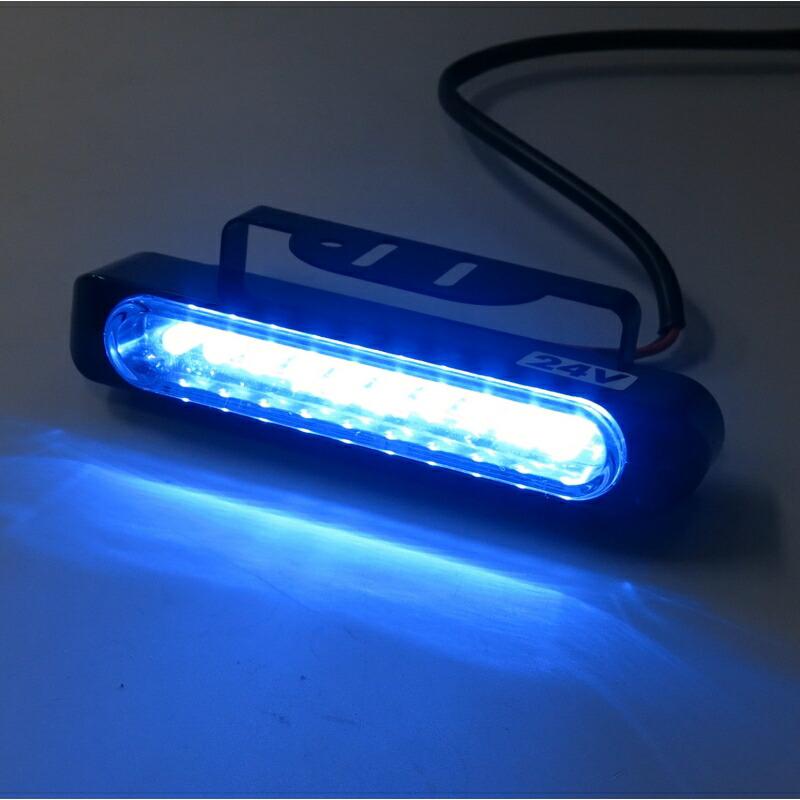 S2902B ポラーグ LEDデイランプ ブルー DC24V用
