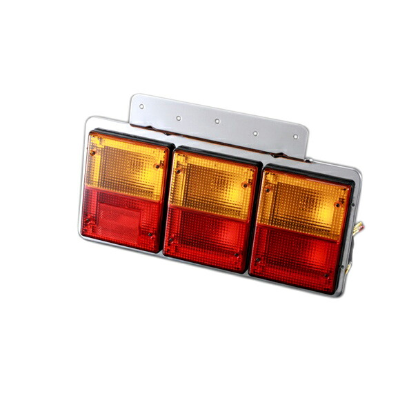 TTL9000 バステールランプ3連 L&Rセット 赤/黄