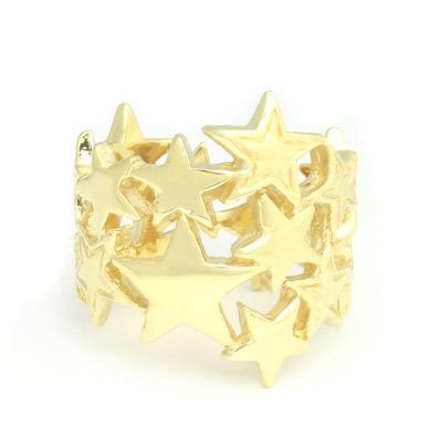 ロイヤルオーダー【公式】【リング】Starburst 18K Gold(US5-US6.5) 【ROYAL ORDER】
