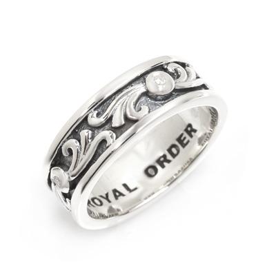 ロイヤルオーダー【公式】【リング】VERONETTE w/ DIAMONDS 【ROYAL ORDER】