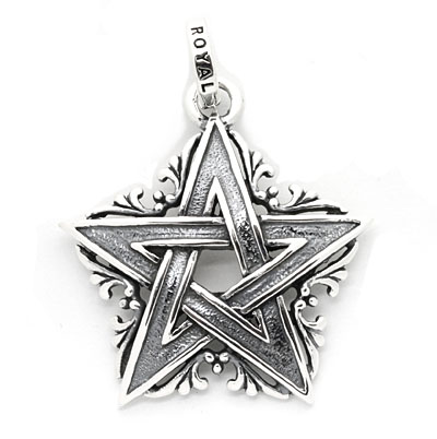 ロイヤルオーダー【公式】【ペンダント】Star of David Vines 【ROYAL ORDER】