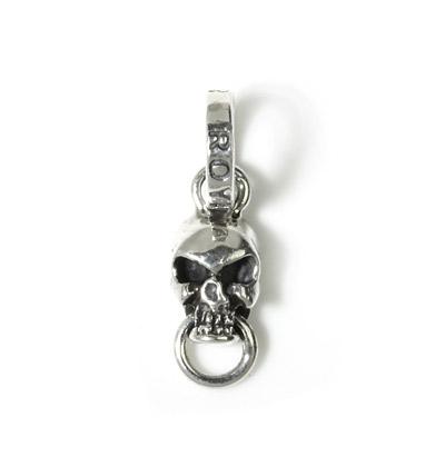 【ロイヤルオーダー ペンダント】Mini Skull W/Ring in Mouth