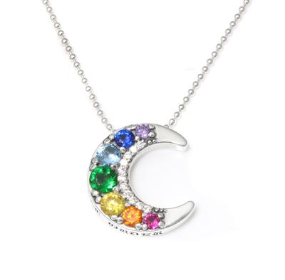 ロイヤルオーダー【公式】【ネックレス】Serendipity Moon Necklace 【ROYAL ORDER】