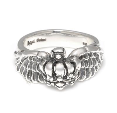 ロイヤルオーダー【公式】【リング】Half Crown with Wings 【ROYAL ORDER】