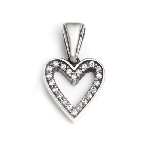 【ロイヤルオーダー ペンダント】SERENDIPITY HEART W DIAMONDS