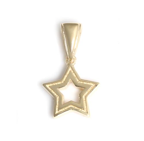 ロイヤルオーダー【公式】【ペンダント】SERENDIPITY STAR 10K GOLD