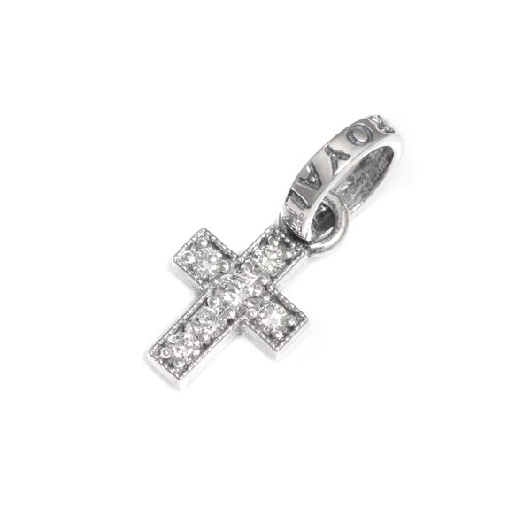 ロイヤルオーダー【公式】【ペンダント】CROSS W/RO JR W/DIAMONDS 【ROYAL ORDER】