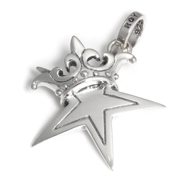 ロイヤルオーダー【公式】【ペンダント】STAR W CROWN 【ROYAL ORDER】