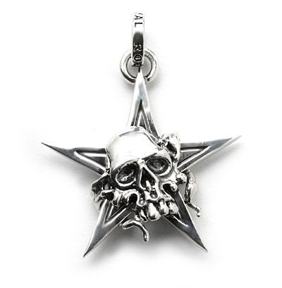 ロイヤルオーダー【公式】【ペンダント】SKULL MASK STAR