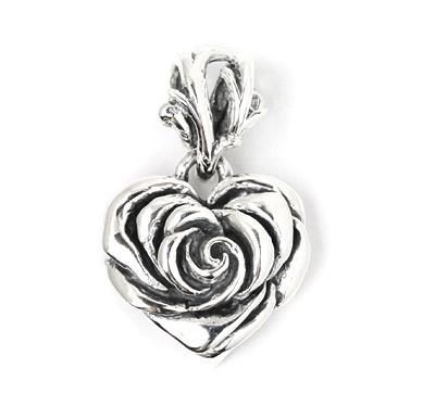 ロイヤルオーダー【公式】【ペンダント】Heart Rose (New) 【ROYAL ORDER】