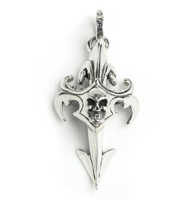 ロイヤルオーダー【公式】【ペンダント】 Skull Dagger Cross 【ROYAL ORDER】