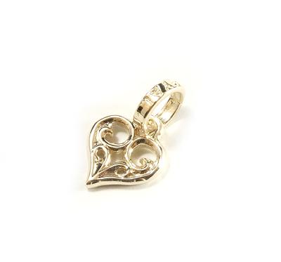 【ロイヤルオーダー ペンダント】SMALL ALLEGRA HEART 10KGOLD 【ROYAL ORDER】