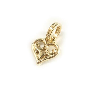 ロイヤルオーダー【公式】【ペンダント】SMALL ALLEGRA HEART 18K YELLOW GOLD 【ROYAL ORDER】