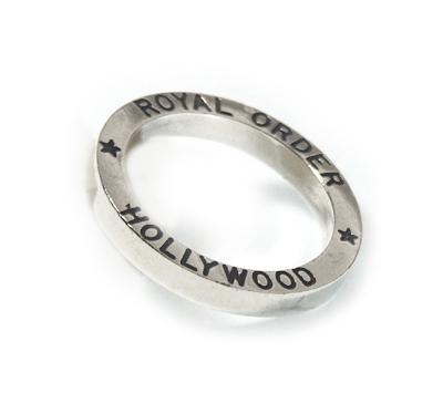 ロイヤルオーダー【公式】【リング】Hollywood Band Ring 【ROYAL ORDER】
