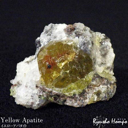 イエローアパタイト 原石 メキシコ産 専門店 パワーストーン 天然石 鉱物 物品